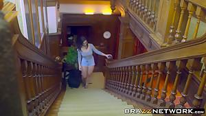 Ava Austen and babe Nekane sharing Diamond big dick