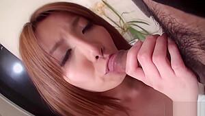 Yuna Hirose gets a nice cream pie
