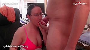 MyDirtyHobby - Study partners have an anal sex break