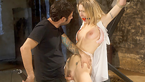 Crazy fetish porn scene with exotic pornstars Tommy Pistol and Natasha Starr from Dungeonsex