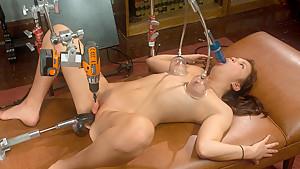 Amazing fetish sex clip with exotic pornstar Kiki Koi from Fuckingmachines