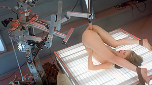 Crazy fetish porn clip with hottest pornstar Sensi Pearl from Fuckingmachines