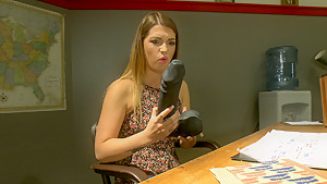 Hottest fetish sex video with fabulous pornstar Jenna Ashley from Fuckingmachines