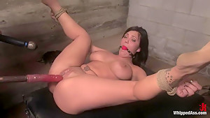 Crazy fetish porn clip with fabulous pornstars Gianna Lynn and Claire Dames from Whippedass