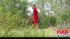 Gina Valentina in The Domination Barn