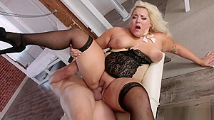 BBW Jade Rose on a hard cock