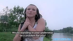 Horny pornstar in Exotic Reality, Public sex movie