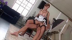 Unfaithful english milf lady sonia showcases her huge boobs