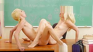 ハーレムフェラ女子校生がヤリチン男にクリ攻めされて連続絶頂の校生系動画