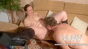 Crazy pornstar in Horny Blowjob, German xxx movie