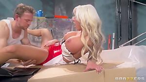 Nasty fucker Erik Everhard got to fuck hot blonde Lolly Ink!