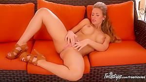 Fabulous pornstar in Exotic Big Tits, Fingering porn scene