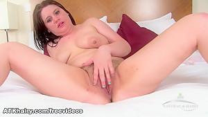 Horny pornstar in Fabulous Hairy, Brunette adult movie