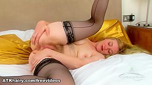 Hottest pornstar in Crazy Masturbation, Hairy sex clip
