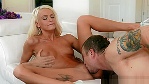 Step daddy romping Emma Hix pussy doggystyle
