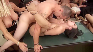 Orgy Babes Like To Take It Hard