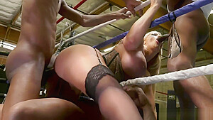 Alura Jenson Pounded in the Ring