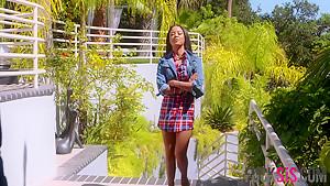 Maya Bijou in Pow Right In The Pussy