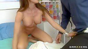 Capri Cavanni's mouth is under attack of Mick Blue's cock