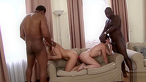 Brittany & Lara Red Two Hot Matures Fuck Black Guys Dbf Network