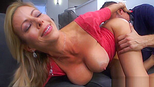 Horny Blonde Cougar Needs This Cock Bad