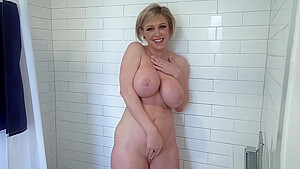 Big Tit Milf Comforts Son With Tit Job And Fuck In The Shower