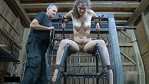 Bound Sub Fingered And Toyed Before Giving Bj-