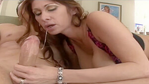 Tiffany Mynx is a mature babe who started