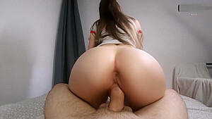 My horny Stepsister won't leave my dick until I cum in her tight pussy!