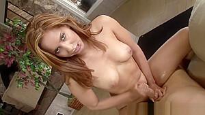 Sexy babe enjoys giving hardcore hand job