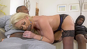 Stepmom Alura Jenson Gets Dpd in front of her stepson Full Scene