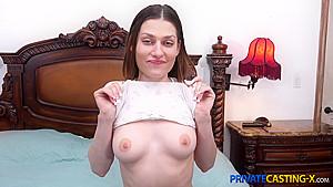 Private Casting-X - Kamryn Jayde - Sex-crazed beauty fuck casting