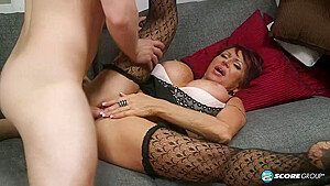 Gina Milano Is A Big Titted Mature Woman Who Is Always In The Mood For Fucking