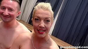 Groupbanged Gangbanging A Real German Slut