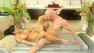 Best pornstar Black Knight in Hottest Massage, Blowjob sex clip