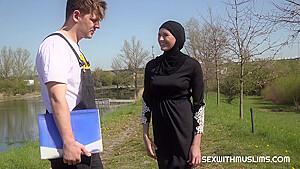 SexWithMuslims - Hot Outdoor Muslim Fuck watch online f