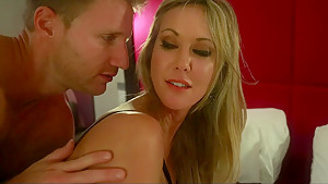 Brandi Love in 69 position