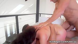 Fabulous pornstars Toni Ribas, Ramon Nomar, Vicki Chase in Horny DP, Big Ass sex video