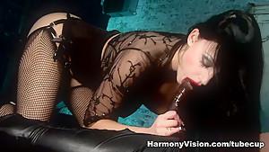 Exotic pornstar Aletta Ocean in Amazing Cumshots, Brunette porn clip