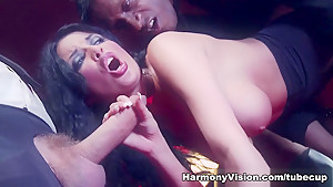 Fabulous pornstar Anissa Kate in Crazy Threesomes, Cumshots xxx video