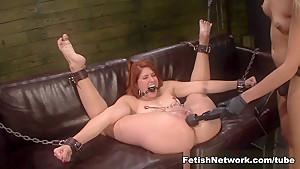 Best pornstars Rose Red, Mila Blaze in Amazing Big Ass, BDSM adult clip