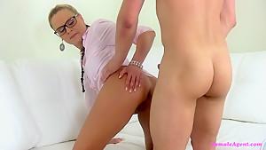 Amazing pornstar in Fabulous MILF, Casting xxx video