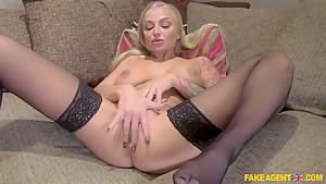 Crazy pornstar in Exotic Blonde, Casting adult scene