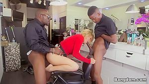 Exotic pornstar Krissy Lynn in Crazy Blonde, Big Ass sex scene