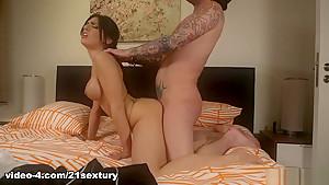 Horny pornstar Cecilia De Lys in Hottest Brunette, Big Ass sex video