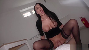 Polish kurwa Ania Kinski is in need of money and cock
