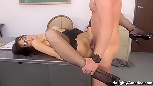 Dane fucking his horny teacher