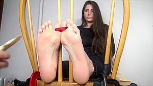 Tickle Room girl feet tickle.(Add me to share videos)-