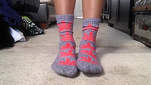 Ms. Trackqueen Sock Tease Compilation-