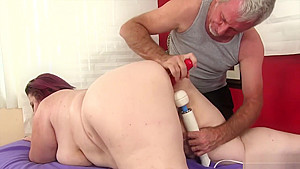 Giant Tittied Fat Ass Lady Lynn Gets A Sex Massage